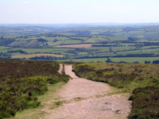 View from Dunkery Beacon at Holnicote Estate, copyright Mark Percy.