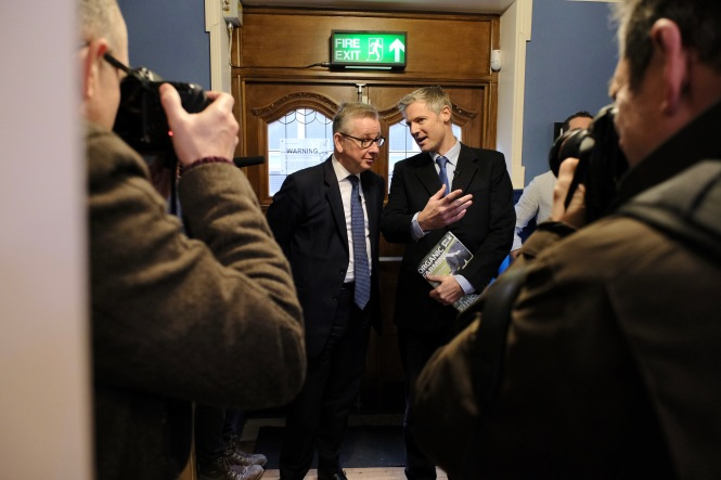 Michael Gove MP and Zac Goldsmith MP pre-session (1)