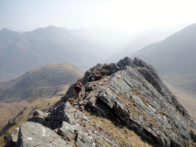 Saddle Kintail South Glen Shiel - thrilling trails of Scotland